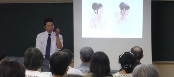 朝日カルチャーセンター横浜教室にて