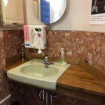 患者様用のトイレに次亜塩素酸水生成器を設置しました。